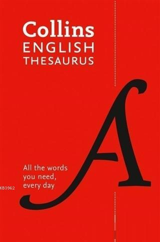 Collins English Thesaurus (8th Edition)