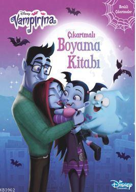 Çıkartmalı Boyama Kitabı - Disney Vampirina