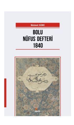 Bolu Nüfus Defteri 1840