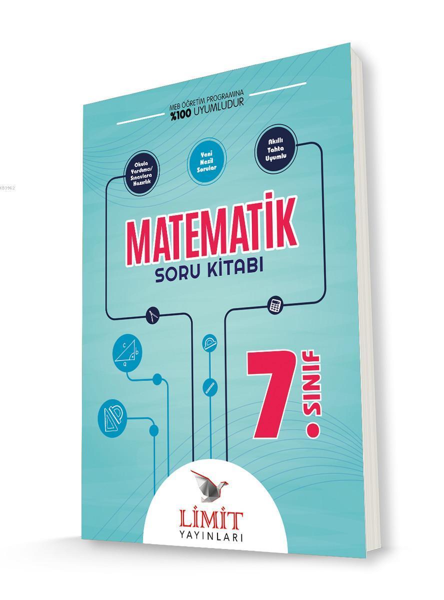 Limit Yayınları 7. Sınıf Matematik Soru Bankası Limit