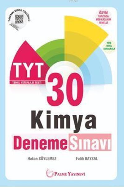 TYT Kimya 30 Deneme Sınavı