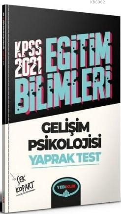 Yediiklim 2021 Kpss Gelişim Psikolojisi Çek Kopart Yaprak Test