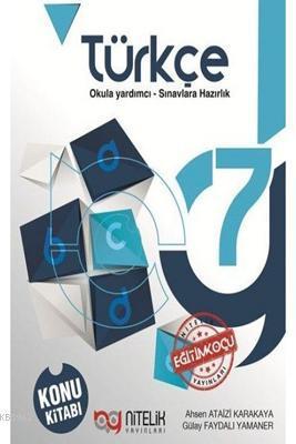 Nitelik Yayınları 7. Sınıf Türkçe Konu Kitabı Nitelik