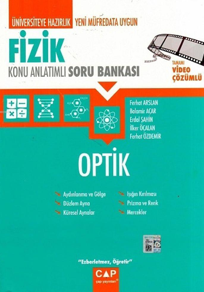 Çap Yayınları Üniversiteye Hazırlık Fizik Optik Konu Anlatımlı Soru Bankası Çap