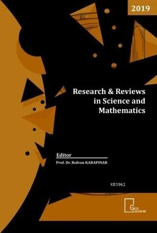 Research Reviews in Science and Mathematics