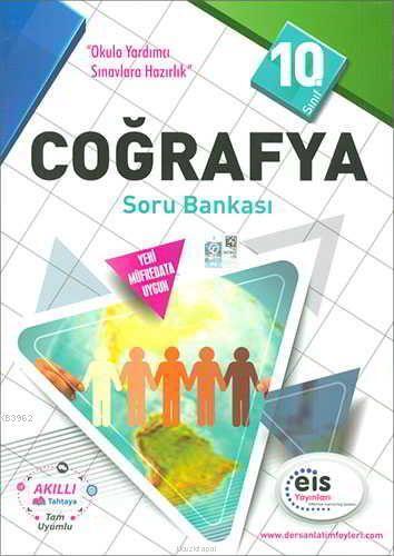 EİS Yayınları 10. Sınıf Coğrafya Soru Bankası EİS