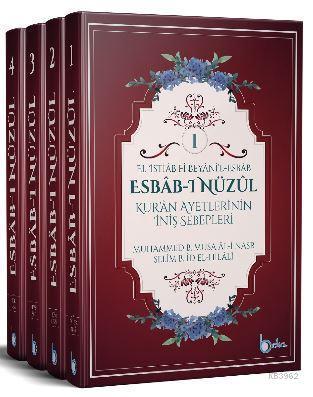Esbab-ı Nüzul - Kur'an Ayetlerinin İniş Sebepleri (4 Cilt Takım)