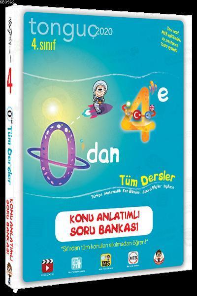 Tonguç Yayınları 4. Sınıf 0 dan 4 e Tüm Dersler Konu Anlatımlı Soru Bankası Tonguç