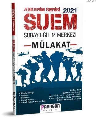 2021 SUEM - Subay Eğitim Merkezi Mülakat Kitabı