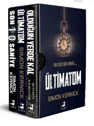 Simon Kernick Seti - Hayatta Kal (3 Kitap Takım); Target, Ultimatum, The Last 10 Seconds