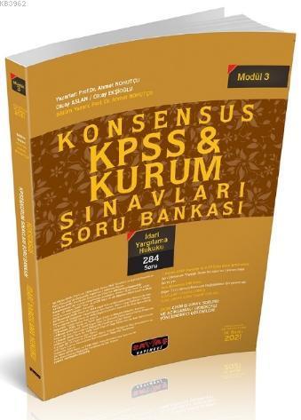 Konsensus KPSS İdari Yargılama Hukuku Soru Bankası