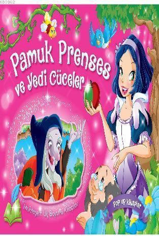 Pamuk Prenses ve Yedi Cüceler - Muhteşem Üç Boyutlu Kitaplar