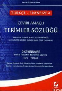 Türkçe - Fransızca Çeviri Amaçlı Terimler Sözlüğü