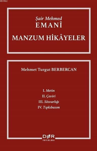 Şair Mehmed Emani-Manzum Hikayeler
