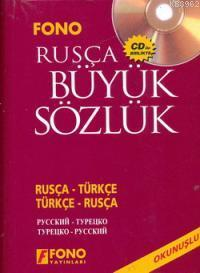 Rusça Büyük Sözlük - Rusça-Türkçe / Türkçe-Rusça