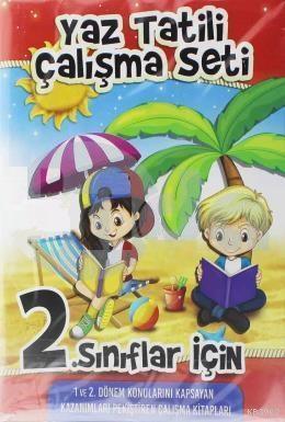 Kupa 2.Sınıf Yaz Tatili Çalışma Seti 3 Kitap