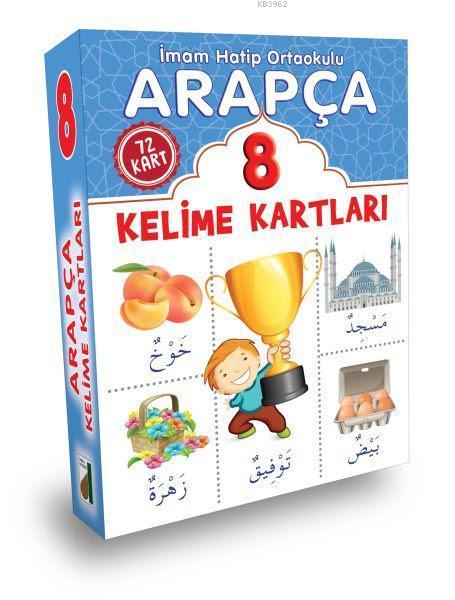 Arapça Kelime Kartları (8. Sınıf)