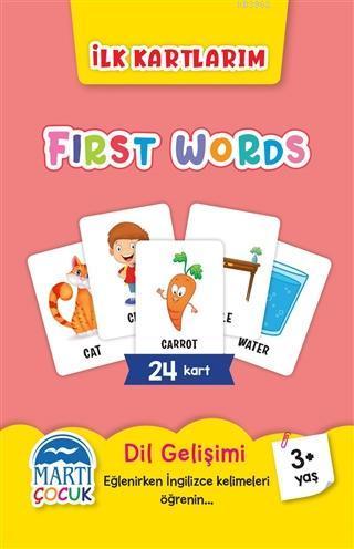İlk Kartlarım - First Words