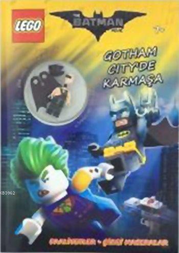 Lego The Batman Movie Gotham City'de Karmaşa