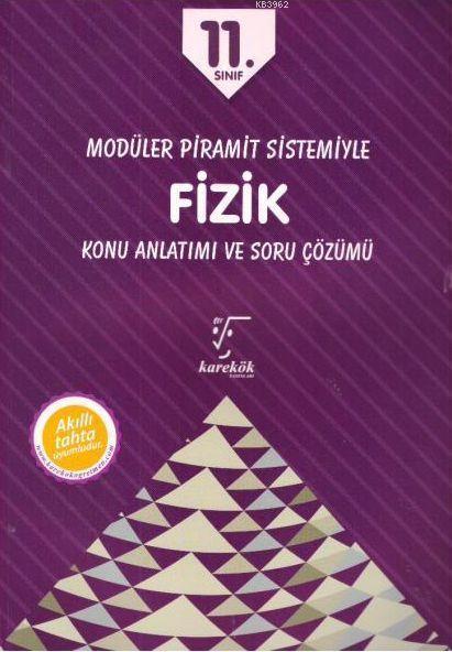 Karekök Yayınları 11. Sınıf Fizik MPS Konu Anlatımı ve Soru Çözümü Karekök