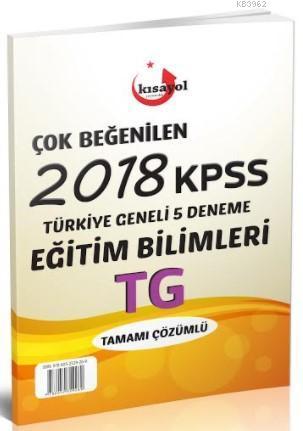 2018 Kpss Türkiye Geneli Çok Beğenilen 5 Deneme-Eğitim Bilimleri