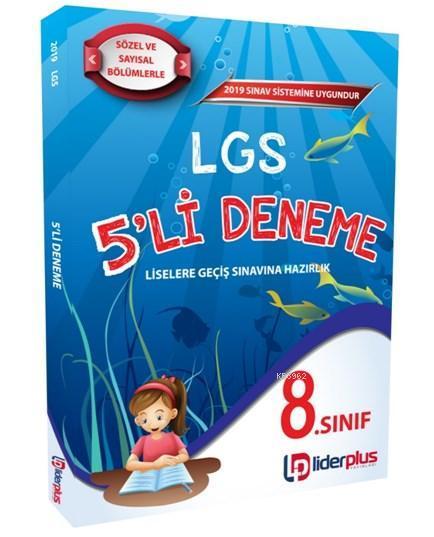 Lider Plus Yayınları 2019 LGS 5'li Deneme