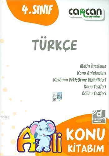 4. Sınıf Türkçe Konu Kitabım