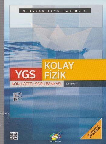 YGS Kolay Fizik Konu Özetli Soru Bankası