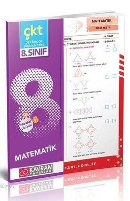 8.Sınıf Matematik Yaprak Test-Karekod Video Çözümlü