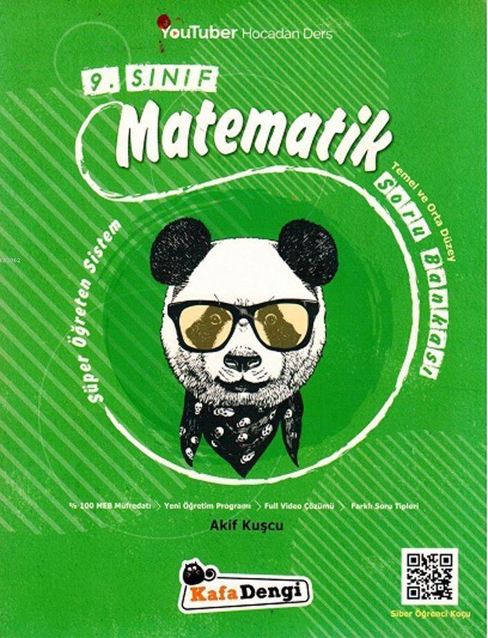 Kafadengi Yayınları 9. Sınıf Matematik Temel ve Orta Düzey Soru Bankası Kafadengi