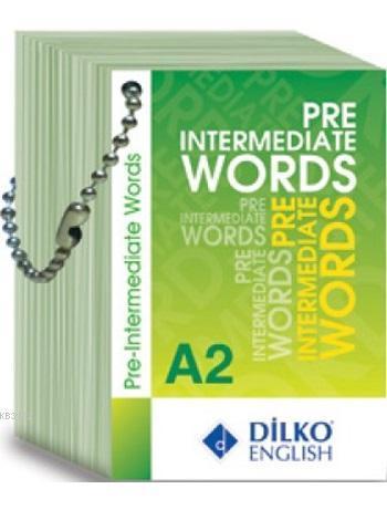 A2 Pre Intermediate Words Kelime Kartı