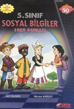 Esen Yayınları 5. Sınıf Sosyal Bilgiler Soru Bankası Esen