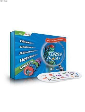 Turbo Dikkat Hızlı Okuma ve Dikkat Oyunu (6+ Yaş)