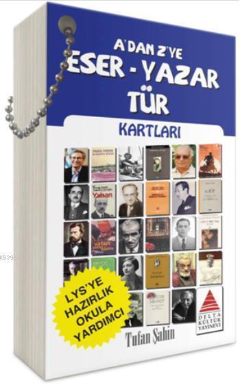 A'dan Z'ye Eser - Yazar - Tür Kartları