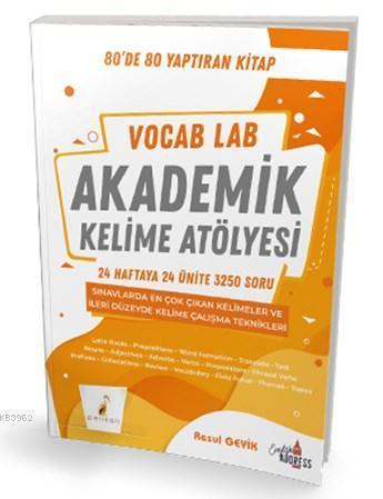 Vocab Lab Akademik Kelime Atölyesi