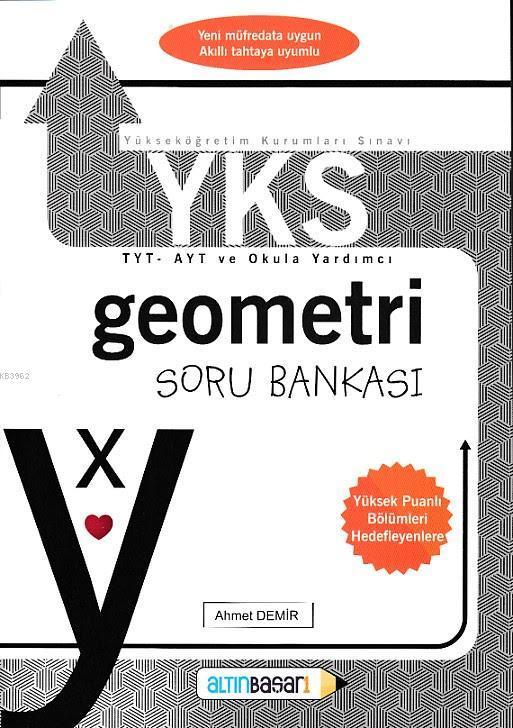 YKS-TYT Geometri Soru Bankası (Ahmet Demir)