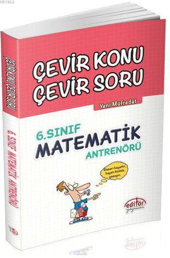 6. Sınıf Matematik Antrenörü Çevir Konu Çevir Soru