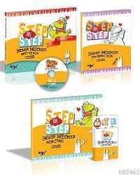 Step By Step Prescholl Book; Coloring Books + Flashcards + CD İlaveli