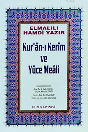 Kuran-ı Kerim ve Yüce Meali - Küçük Boy; Hafız Osman Hatlı