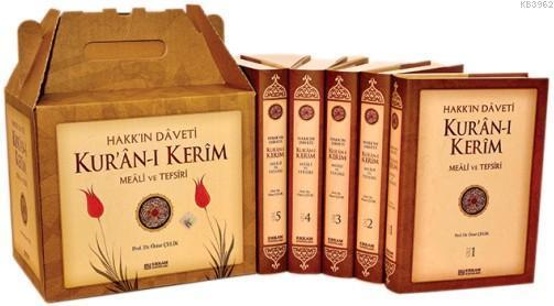 Hakk'ın Daveti Kur'an-ı Kerim Meali Ve Tefsiri; 5 Kitap
