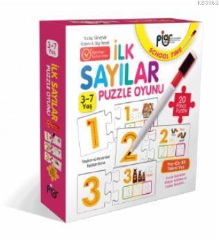 İlk Sayılar Eşleştirme - İlişkilendirme ve Puzzle Oyunu