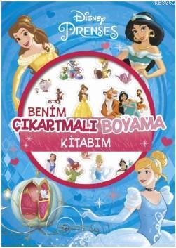 Disney Prenses - Benim Çıkartmalı Boyama Kitabım; 31 Çıkartma!