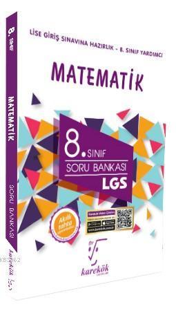 Karekök Yayınları 8. Sınıf LGS Matematik Soru Bankası