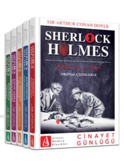 Sherlock Holmes Bütün Hikayeleri; (5 Kitap Takım)