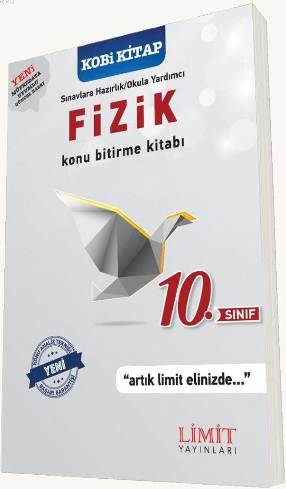 Limit Yayınları 10. Sınıf Fizik Konu Bitirme Kitabı Limit