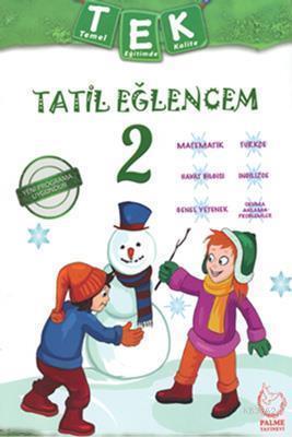 Palme Yayınları 2. Sınıf Tek Tatil Eğlencem Seti Palme