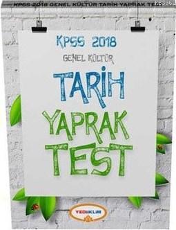 2018 KPSS Genel Kültür Tarih Yaprak Test