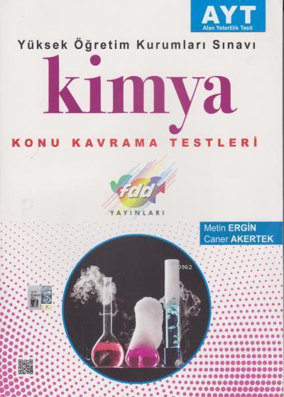 FDD AYT Kimya Konu Kavrama Testleri
