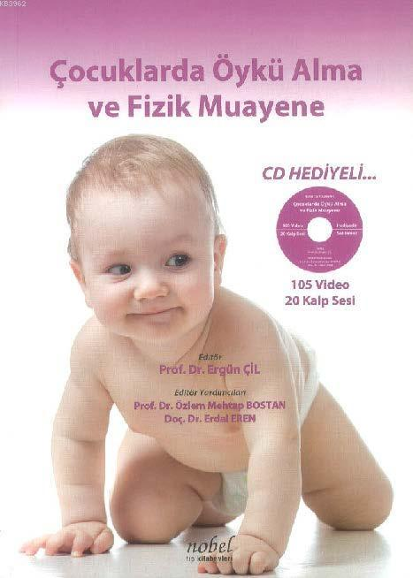Çocuklarda Öykü Alma ve Fizik Muayene + CD