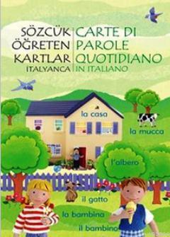 Sözcük Öğreten Kartlar - İtalyanca